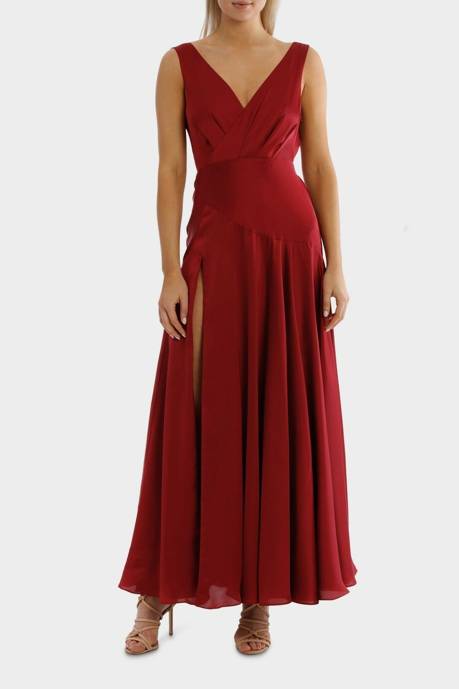 Fame & Partners New  The Escala Dress, Red, Size10. MSRP  279