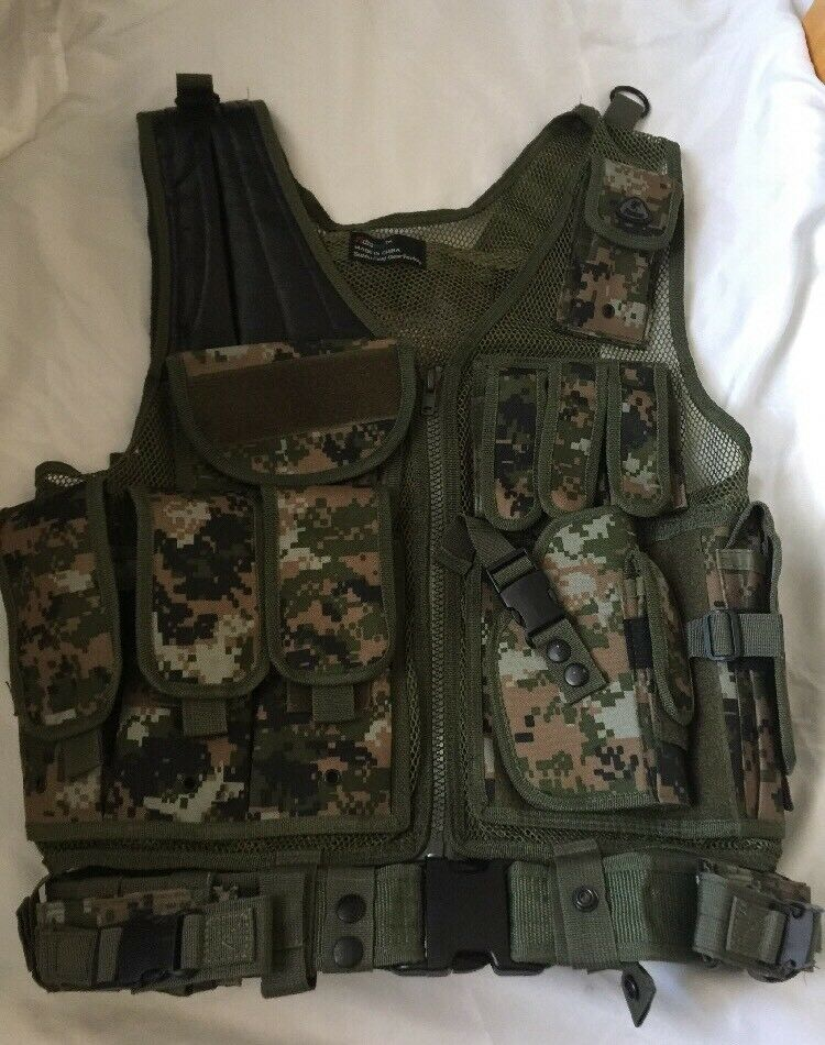 Fidragon Deluxe  tactical vest ST26 _ Excellent Condition  high quality