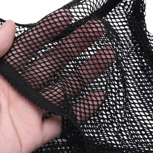 Men/'s Underwear Mesh Fishnet Tight Pants Stretchy Crotchless Pantyhose Nightwear