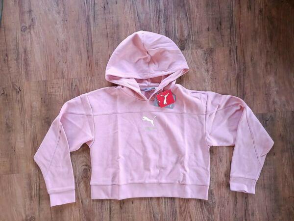 Puma NU-TILITY Kapuzenpullover Damen Pink Rosa Women Hoodie 580088-14 SALE
