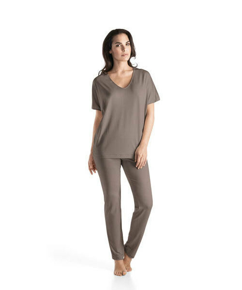 Hanro Lounge Pant Chelsea- Lyocell/ Elasthan- Fb dusty olive- Größe XS bis XL