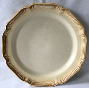 Mikasa-Whole-Wheat-Dinner-Plate-Replacement-E8000-Japan-Vintage-Stoneware
