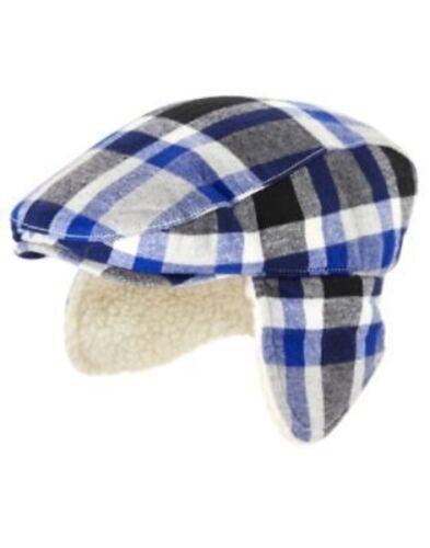 GYMBOREE REINDEER LODGE PLAID FLAP DRIVING HAT 3 4 5 7 NWT-OT