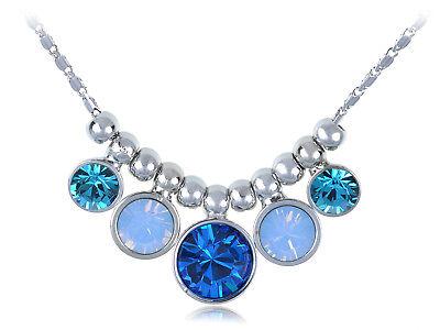 Clear Crystal Encrusted Border and Hyacinth Crystal Spherical Pendant