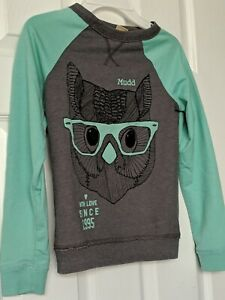 Mudd-Kohls-NWOT-Girls-Long-Sleeve-Sweatshirt-Pullover-Top-Size-XS-S-7-8