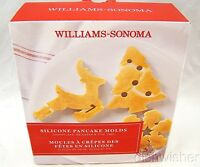 Williams Sonoma 2014 Holiday Pancake Molds Box Of 3 Molds