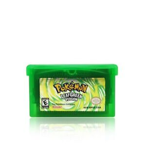 Pokemon-LEAFGREEN-Version-US-Game-Cartridge-For-Gameboy-Advance-GBA-SP-DS-Lite