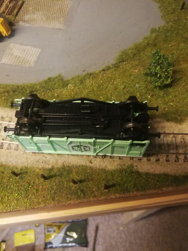 Modeltog, Heljan KFK samlesæt 4021, skala Ho 1:87