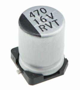 10 x 22uF 35V SMD Electrolytic Capacitor 105°C