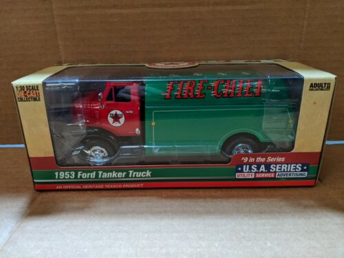 TEXACO FIRE CHIEF USA SERIES #9 1953 FORD DIECAST TANKER TRUCK NEW 2018 RELEASE