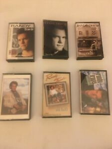 Randy Travis lot of 6 Country cassette tapes