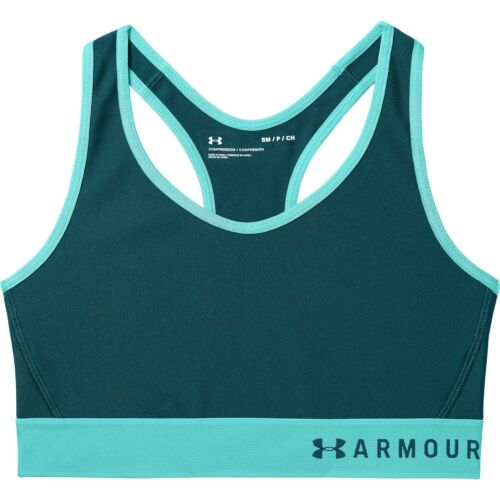 Under Armour Women/'s Mid Keyhole Racker Back Lightweight Sports Bra