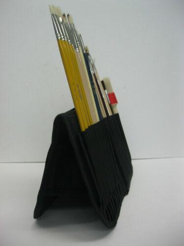 Artist Paint Brush case holder for Long and short handles Nice Gift Idea !