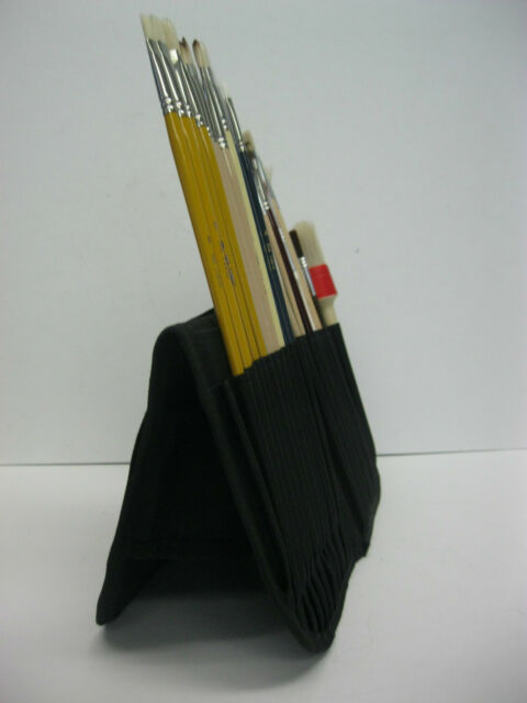 ARTIST BRUSH CASE FOR SHORT AND LONG HANDLES (BRAND NEW)