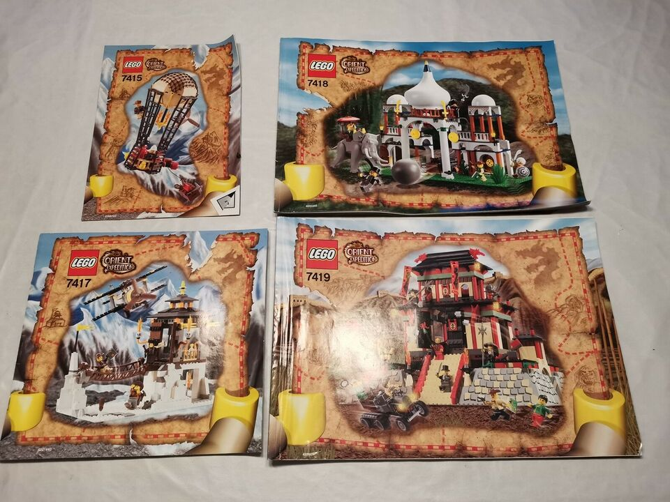 Lego andet, Orient expedition 7415 7418 7417 7419