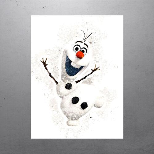 Walt Disney Frozen Movie Olaf Poster FREE US SHIPPING