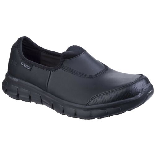 Skechers Occupational Damen Sure Track Slip on Work Schuhe (39 EU) (Schwarz) PLEEs