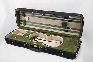 Professional-Top-Quality-Acoustic-Violin-Oblong-Case-4-4-Size-CLEARANCE