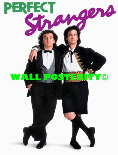 A Canvas or Poster 80s 90s Poster PERFECT STRANGERS Choose Size /& Media Type