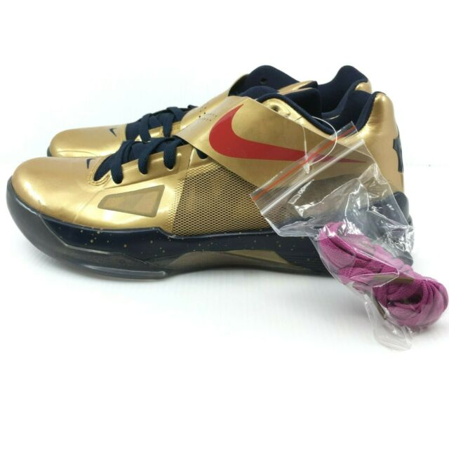 Size 10.5 - Nike Zoom KD 4 Gold Medal