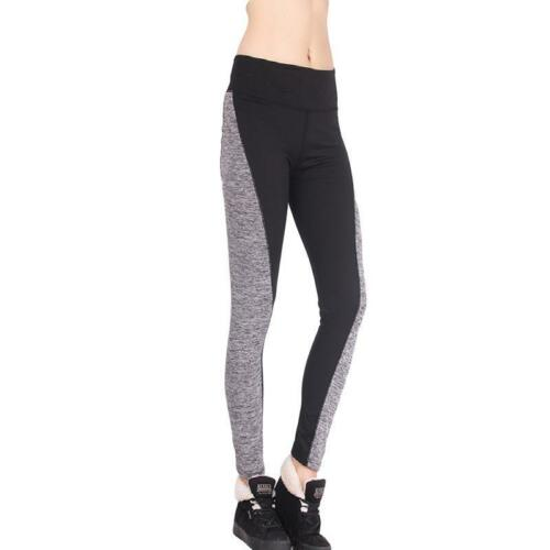 Womens Yoga Workout Gym Leggings Fitness Running Sports Pants Stretch Trouser Ji
