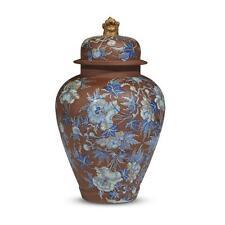 A Wedgwood hand-enameled stoneware chinoiserie ginger jar, circa 1850 Lot 102
