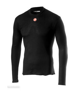 Castelli-PROSECCO-R-Long-Sleeve-Mid-Weight-Cycling-Base-Layer-BLACK