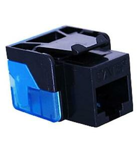 ICC-Category-5E-Modular-Connector-8-Conductor-8-Position-BLACK-ICC-CAT5JACK-BK