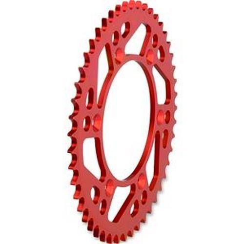 MOOSE ruota dentata in alluminio facilmente HONDA CR CRF 125 250 450 98-estremamente stabile ROSSO 50z