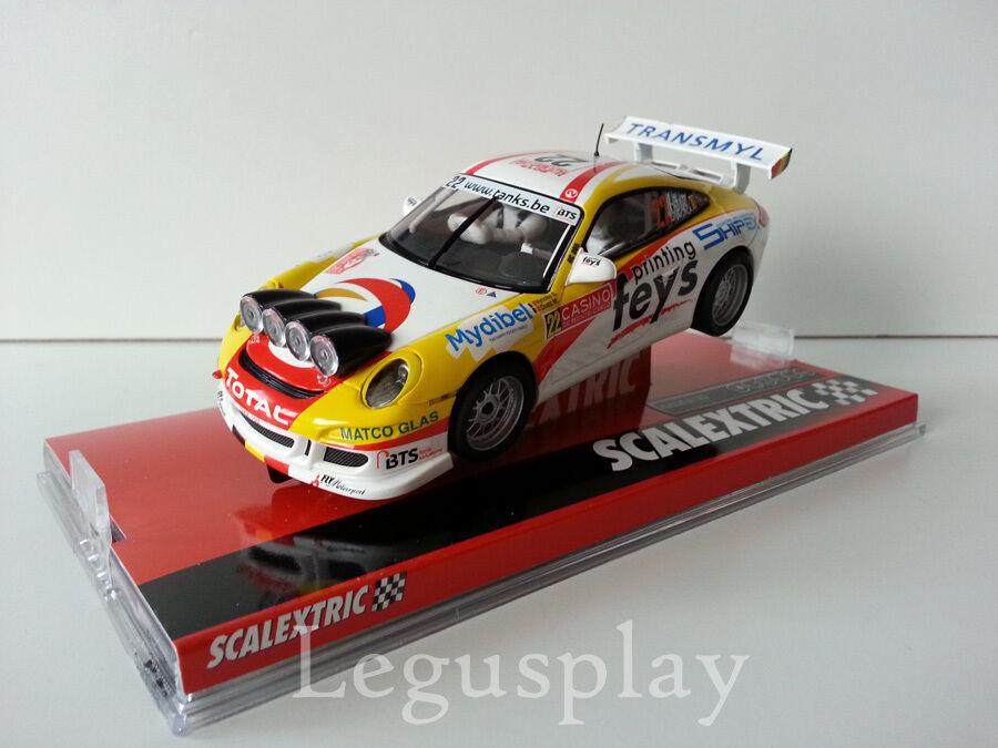 Slot SCX Scalextric A10219S300 Porsche 911 GT3 Rally Monte Carlo 2015  Duez