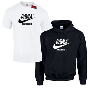 purchase cheap 844e0 193b6 Details about Dybala Surname Spoof Juventus Italy Argentina Hoodie Or  T-Shirt
