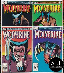 Wolverine-Limited-Run-1-2-3-4-1-4-Marvel-Frank-Miller