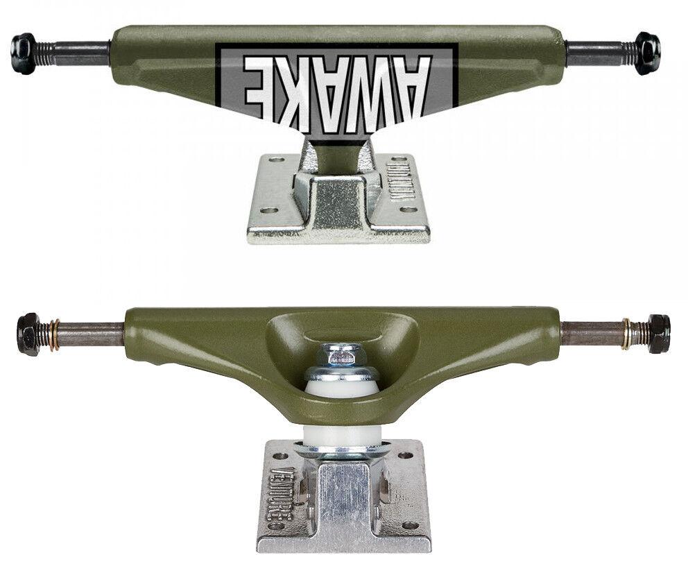 Unternehmen 5.25 Skateboard Armee-Grün achsen high - Motto - Armee-Grün Skateboard / 20.3cm breit 49c3cc