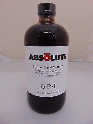OPI Absolute Acrylic Nail Precision Liquid Monomer 16oz FREE SHIPPING