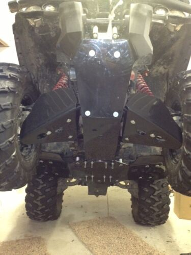 Can Am Outlander MAX XMR 500 650 800 1000 Skid plate front rear 2012+