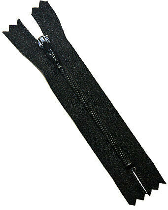 Wholesale pricing Doll Zippers By YKK 2 Inch WHOLESALE Black 50 Zippers YKK