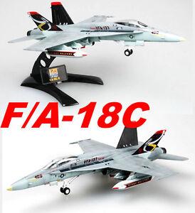 Easy-Model-1-72-F-A-18C-US-NAVY-VFA-137-NE-402-Plastic-Fighter-Model-37115