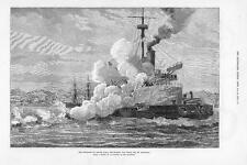 1879 H.M.S. Thunderer off ISMID, Sea of Marmora Battle (208)