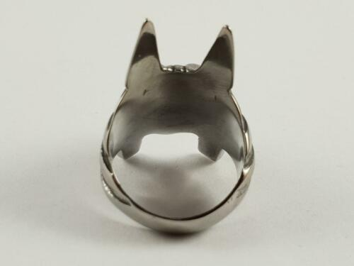 Stainless Steel ANUBIS God of Death biker ring outlaw bikie Egyptian dog