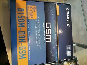 Gigabyte-GSM-B150M-D3H-LGA-1151-mATX-DDR4-ultra-durable-Motherboard-neuf-new
