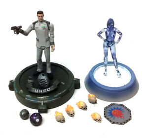 """McFarlane Toys Halo Reach Series 5"""" Video Game toy figures & Accessories set"""