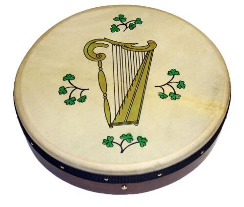 18 x 3,5 Zoll Irish Bodhran mit HARP Logo Stimmbar