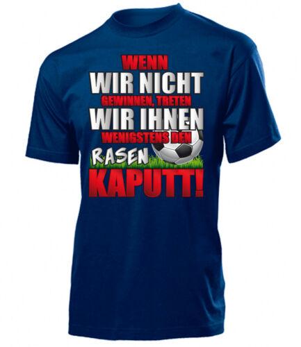 nous plaidons Vous T-Shirt Homme Hommes Football drôle Si on gagne pas