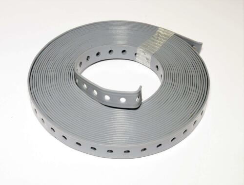 5 Rollen Lochband 27 mm// Stahl kunststoffummantelt