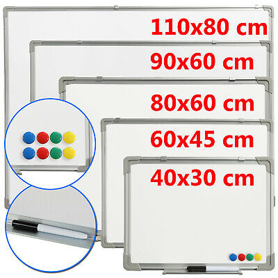 B Ware Whiteboard 60x45 Magnettafel Wandtafel Pinnwand Memoboard Magnetwand