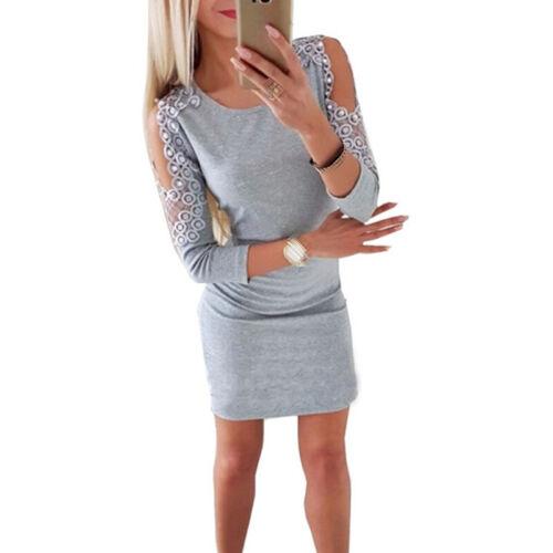 Abend Kleid Cocktail Party Abendkleider S~XL S-XL Freizeit Minikleider