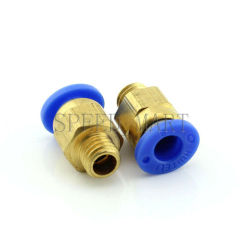 1 piezas de aire neumático de liberación rápida conector M8*1.25 de rosca métrica 6mm Tubo