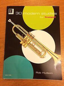 30 Modern Studies For Trumpet * Nouveau * éditeur Universel 21316-afficher Le Titre D'origine Une Gamme ComplèTe De SpéCifications