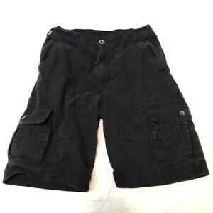 Levi-s-Cargo-Shorts-Men-s-Size-30-Rugged-Black-Shorts-White-Tab-Levis