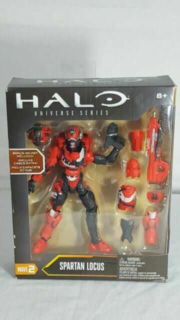 Halo Universe Series Wave 2 Spartan Locus Mattel Action Figure
